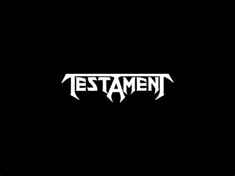 Testament Logo And Wallpaper Band Logos Rock Band Logos Metal Bands Logos Bands Logos