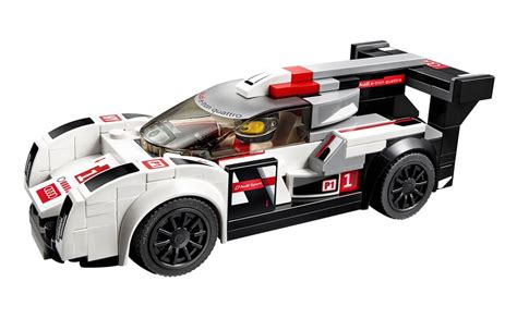LEGO Speed Champions 75872 pas cher Audi R18 e tron quattro