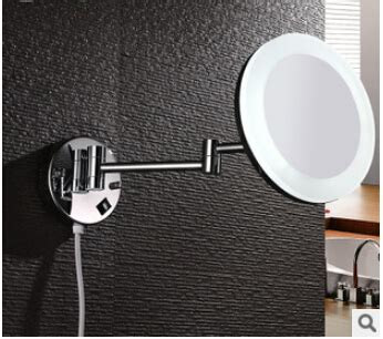 6 quot or 8 quot bathroom mirror for makeup cosmetics extendable 8 quot side bathroom folding magnifying bathroom wall