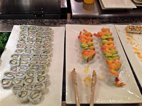 Sushi With Modest Tering Yelp Seafood Buffet Wisconsin Dells