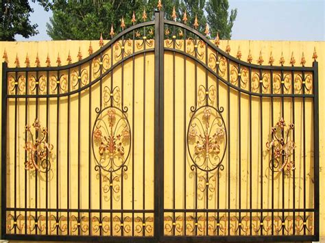iron gate designs  indian homes awesome home