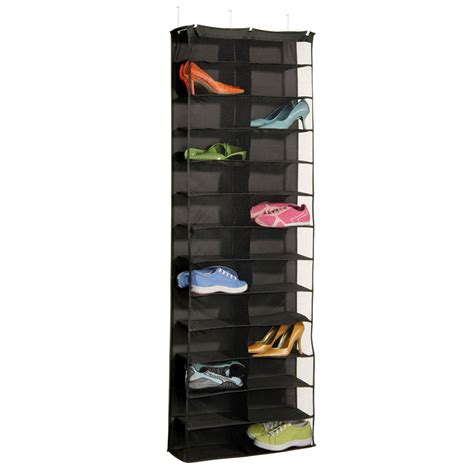 door shoe over the door 26 pocket shoe rack in over the door shoe racks