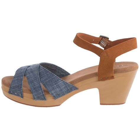 suede clogs for toms chambray suede beatrix clogs for