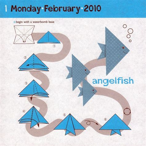 Simple Fish Origami - origami fish origami design fish and origami