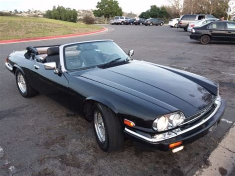 Records California 1989 Jaguar Xj S V12 Convertible Lots Of Service Records California Car For Sale