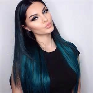 black with colored hair balayage ombr 233 hair extensions