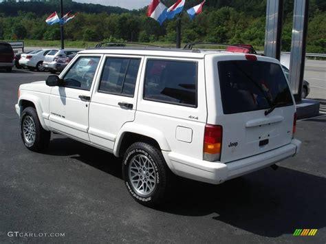 1998 White Jeep 1998 White Jeep Se 4x4 15967704 Photo 4