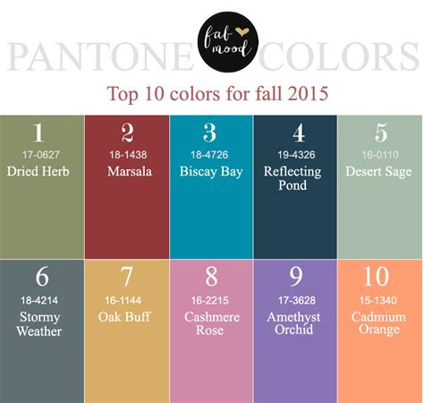 colors for 2016 pantone colors 2015 pantone colors fall 2015