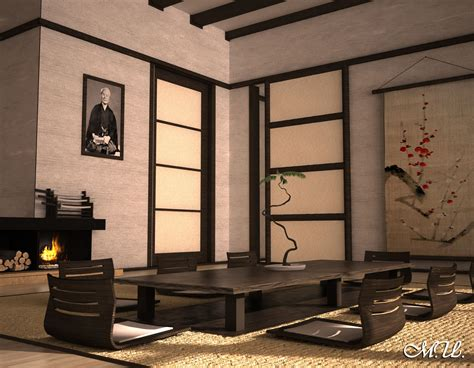 Interior Japan by Cgarchitect Professional 3d Architectural Visualization