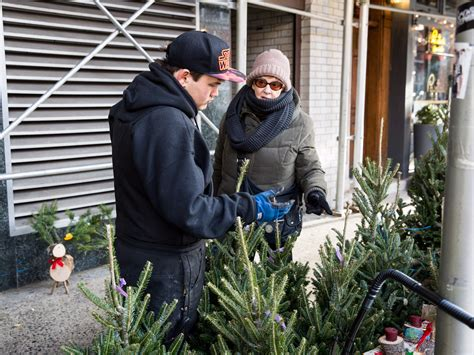 what it s like to sell christmas trees on the streets of