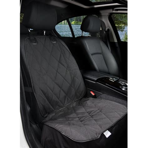 front seat car covers for dogs galleon barksbar pet front seat cover for cars black