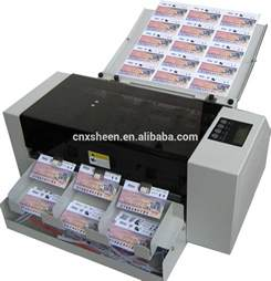 business cards printer machine business card die cutting machine photo cutter machine id