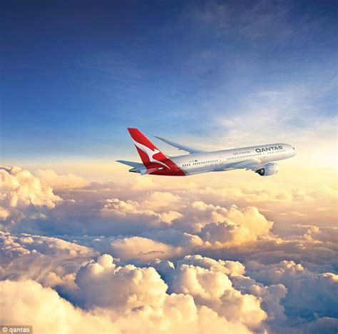 qantas to sell tickets for non stop perth to flight daily mail