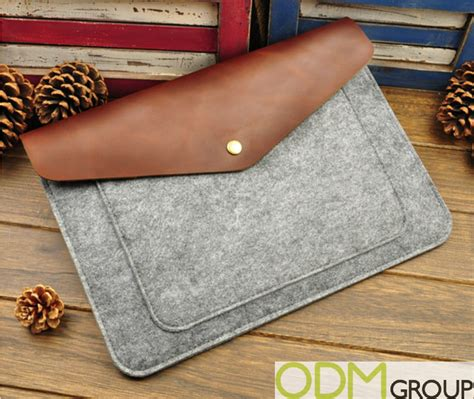 Handmade Laptop Sleeve - custom laptop sleeve with unique eco friendly design