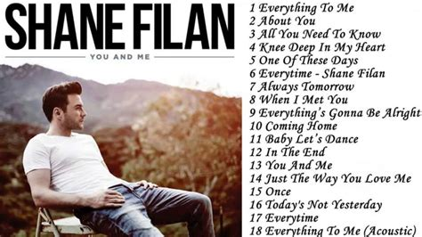 Shane Filan You And Me Deluxe the best song of shane filan full ablum you and me