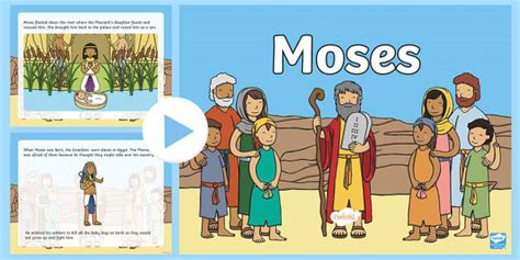 Themes Of Moses Story | moses story powerpoint moses moses powerpoint moses story