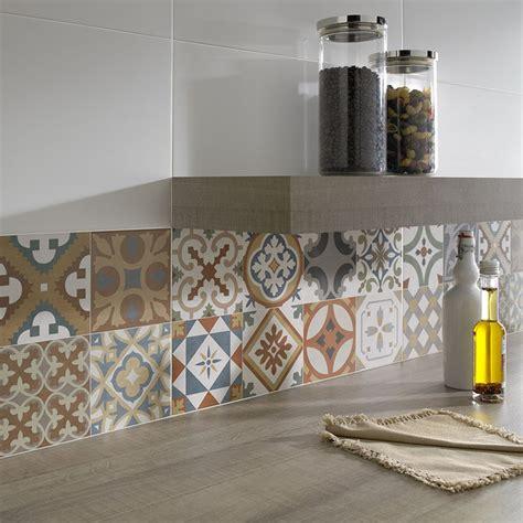 Moroccan Patchwork Tiles - top 15 patchwork tile backsplash designs for kitchen
