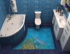 3d flooring 13 3d bathroom floor designs that will mess with your mind
