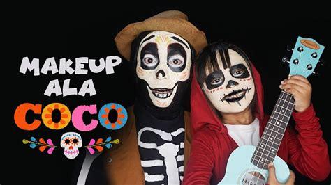 coco kartun coco miguel dan hector facepainting tutorial gambar