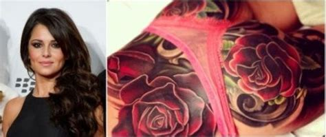 tattooed heart x factor cheryl cole s mother unimpressed with her new bum tattoo