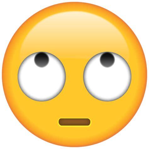 emoji eye roll rolling eyes emoji free png download emoji island