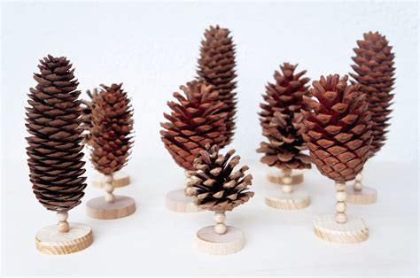 Bäume Basteln Aus Papier by Bastelideen Mit Tannenzapfen Basteln Mit Tannenzapfen Die