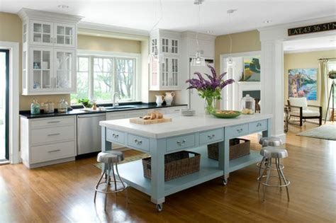 islands for a kitchen portable kitchen islands they make reconfiguration easy