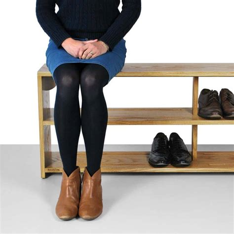 bench footwear oak shoe bench