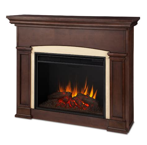 walnut electric fireplace 58 5 quot holbrook grand walnut electric fireplace