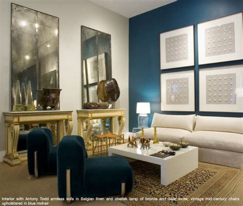 blue accent wall peacock blue accent wall house home pinterest