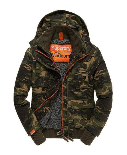Kemeja Superdry superdry forces bomber jacket s jackets apparel