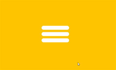 react hamburger button menu