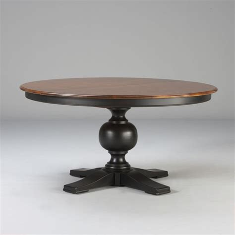 Ethan Allen Dining Room Tables Round by Custom Classics Cooper Round Table 60 Quot Traditional