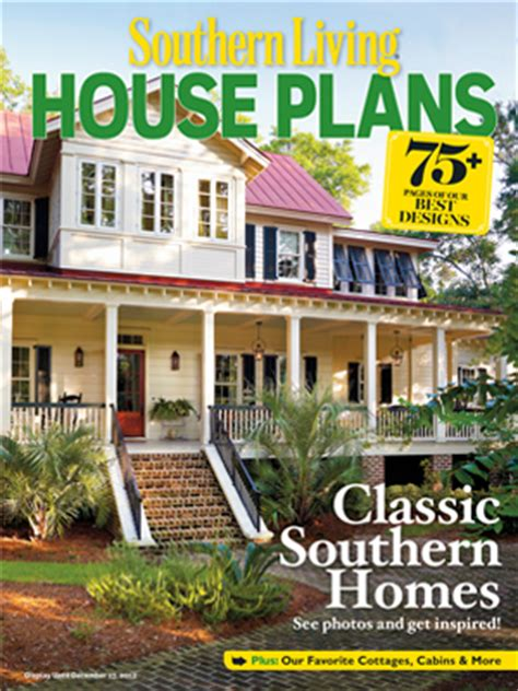 southern living magazine house plans house plan books and magazines southern living house plans