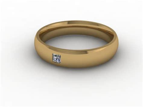 Single Wedding Ring by Wedding Rings Diamondgeezer