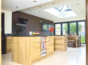 Country Home Interior Design Ideas kitchen with roof lantern side return pinterest