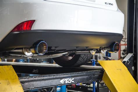 ark grip exhaust for lexus is250 is350 2014 on