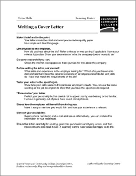 skills for a cover letter vcc lc worksheets resumes cover letters