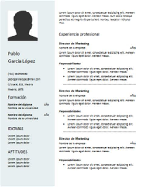 Plantilla Curriculum Vitae Listo Para Rellenar Curriculum Vitae Funcional 21 Plantillas Para Descargar Gratis