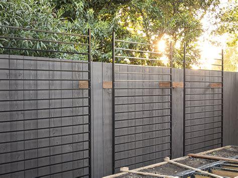 metal garden screen trellis using metal fence panels as trellises for the vertical