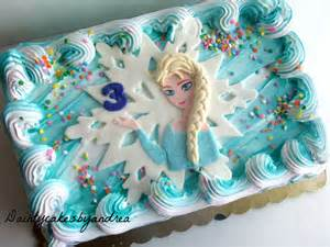 Elsa Bedroom Set Fondant Disney Elsa Inspired Sheet Cake By Daintycakesbyandrea