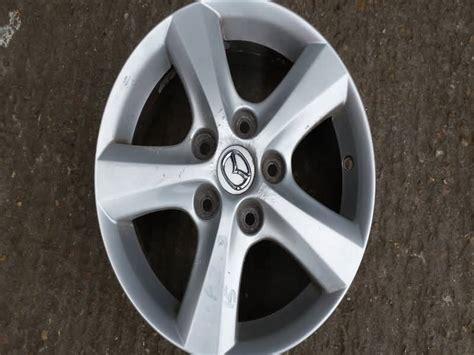 mazda  alloy wheel size   spoke  stud  tyre    diy motorist