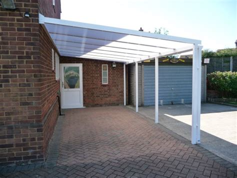 Carports Uk Driveway Carports Polycarbonate Glass Canopy Roof
