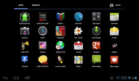 android menu android x86 4 0 review not impressed