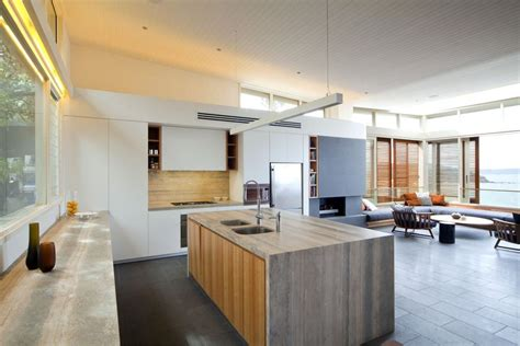 modern beach house interior design exquisite modern beach house in australia idesignarch