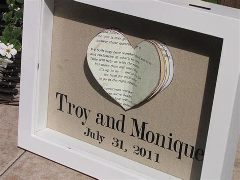 Wedding Handmade Gifts - handmade wedding gift let s get crafty