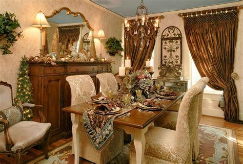 comedores decorados por navidad salas  estilo