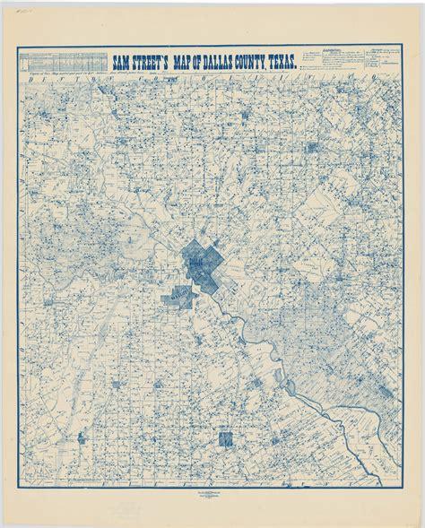 map of garland garland landmark society sam s map of dallas