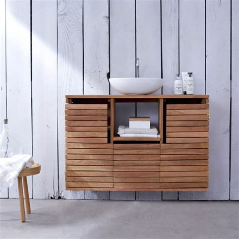billige teak gartenmöbel uk waschtisch aus holz und andere rustikale badezimmer ideen