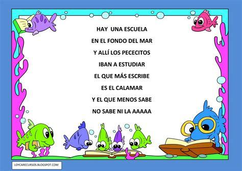 poema de los animales de 4 estrofas que rimen recursos de educaci 211 n infantil poes 205 as relacionadas con